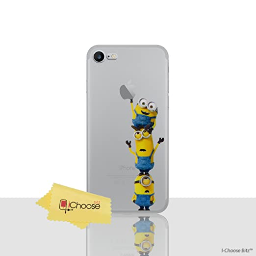 12 opinioni per iCHOOSE iPhone 7 Plus Caso / Minions Fumetto Gel Caso per Apple iPhone 7 Plus /
