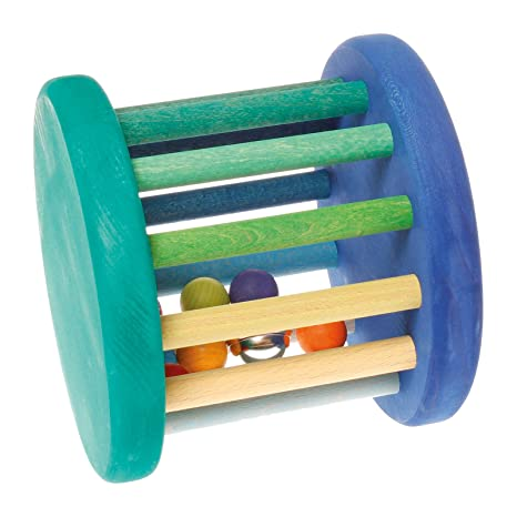 Amazon.com: Big Rolling Rueda de madera Baby Toy con ...