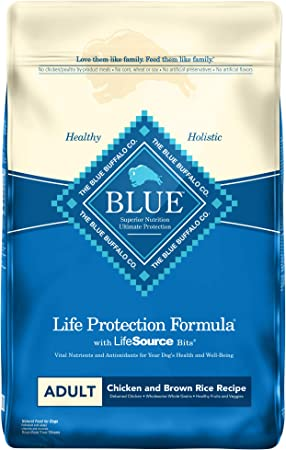 Blue Buffalo Life Protection Formula Natural Adult Dry Dog Food - The Healthy and Holistic Choice for Adult Dogs