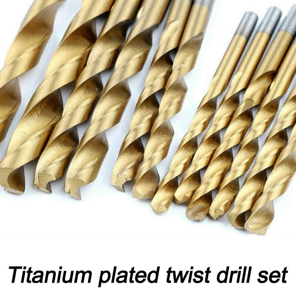 Juego de 105 brocas de cobalto de 1,5 a 10 mm para metal de acero inoxidable HSS-Co Cobalt Kit