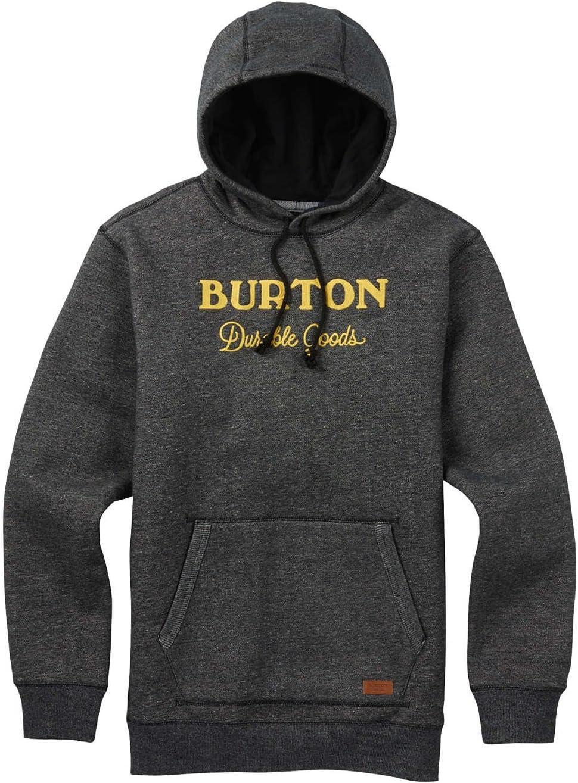 sweat shirt burton maynard black heather noirr