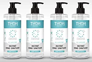 THDH Maxcare 500ml Instant Hand Sanitiser multiple quantities available (4 x 500ml bottles)