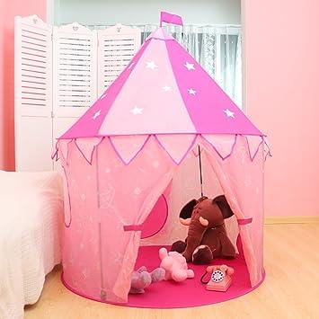 1b3a7fc7f6b600 WolfWise Tente de Jeux pour Enfant Tunnel Bébé Maison de Jeux pour Filles  Garçons Intérieure Extérieure