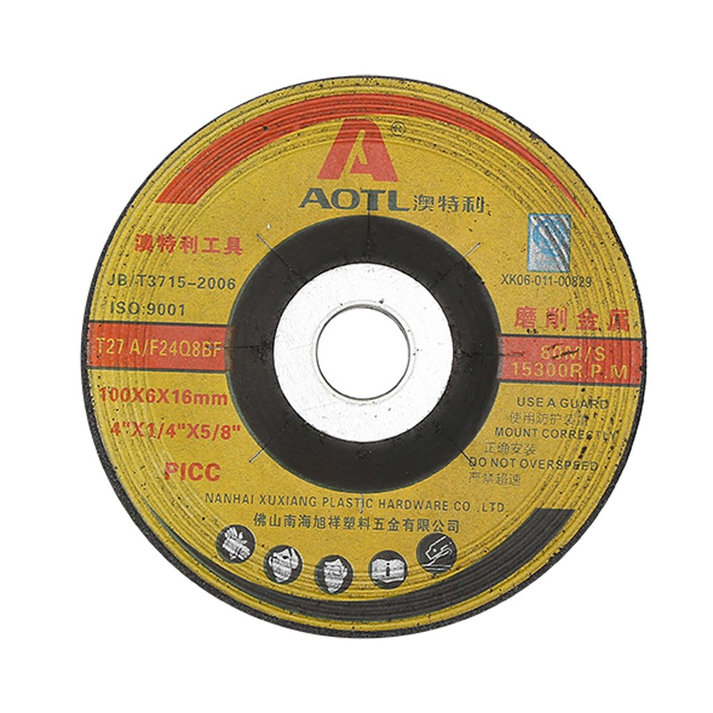 MonkeyJack Professional Cutting Wheels For Grinders - For Metal & Stainless Steel Flat Cut Off Wheels