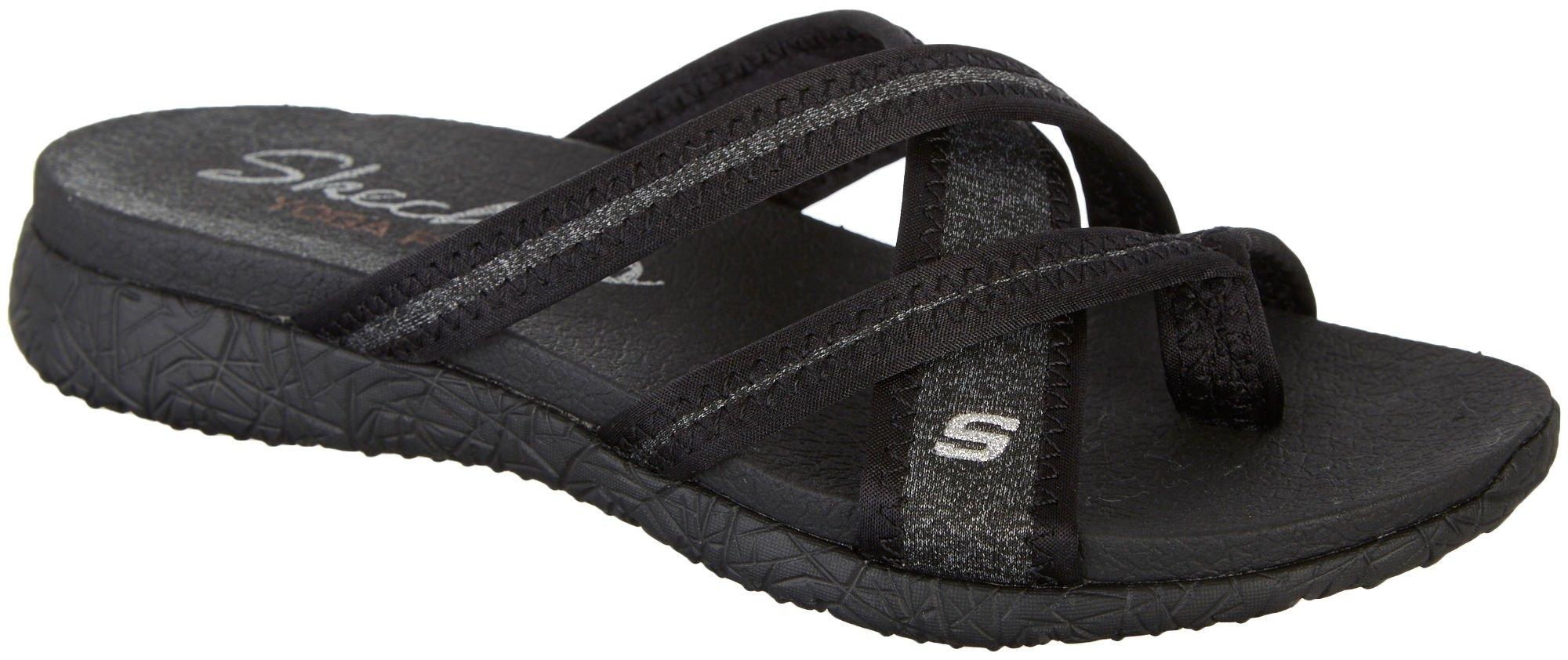 Skechers Women's Microburst - Too Hot Black Athletic Shoe