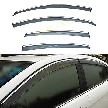 NEW Aftermarket NEW SIDE BODY MOULDING SET CHROMR for Nissan ALTIMA 2013-2017