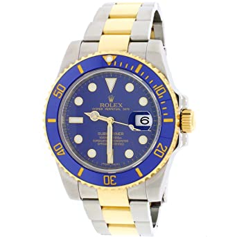 9908f2e689d Amazon.com: Rolex Submariner Automatic-self-Wind Male Watch 116613 ...