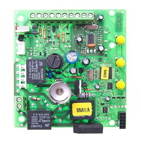 Nice SNA1/A central de control solo tarjeta electrónica para ...