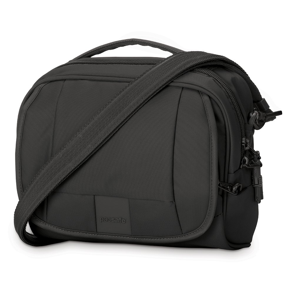Pacsafe Metrosafe LS140 Anti-Theft Compact Shoulder Bag, Black