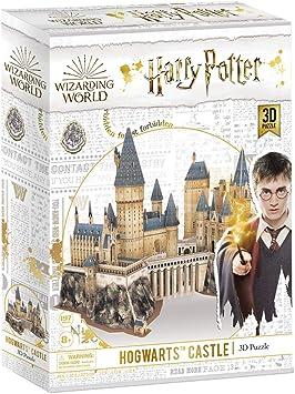 CubicFun Puzzle 3D Harry Potter Hogwarts Castillo Escuela de Brujería y Hechicería Kits de Construcción Modelo, DIY Juguetes 3D Rompecabezas Regalos para Adultos y Niños, 197 Piezas: Amazon.es: Juguetes y juegos