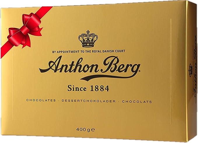 Anthon Berg Gold Assorted Luxury Chocolates Gift Box 400g