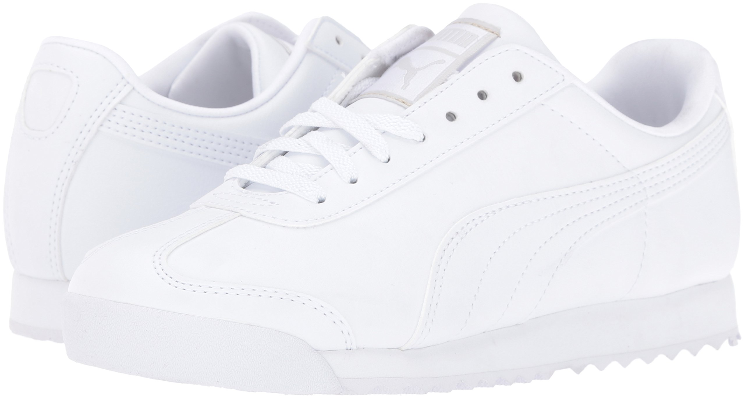 PUMA Roma Basic JR Sneaker , White/Light Gray, 3 M US Little Kid by PUMA (Image #6)