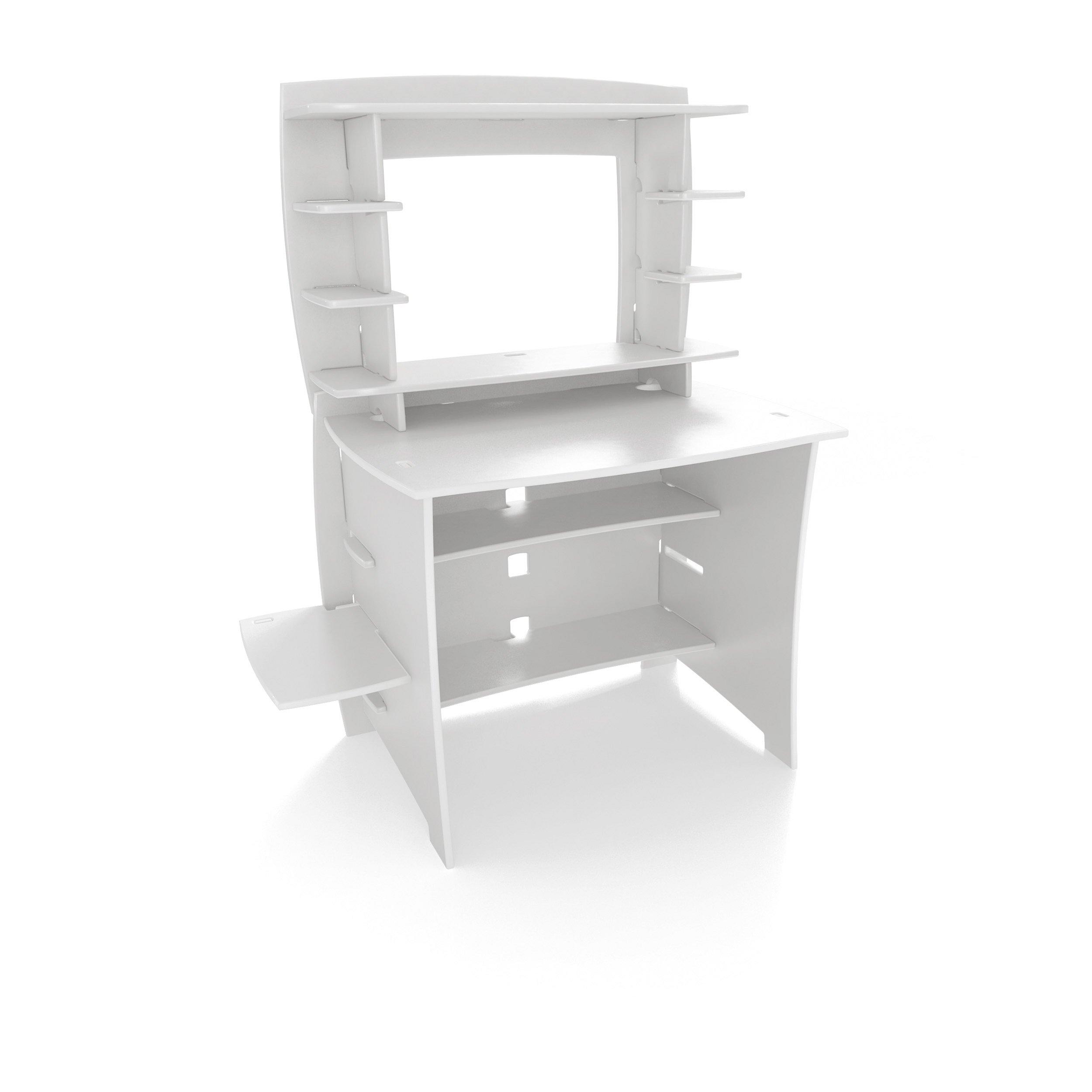 Legare 36-Inch Student Desk with Hutch, White
