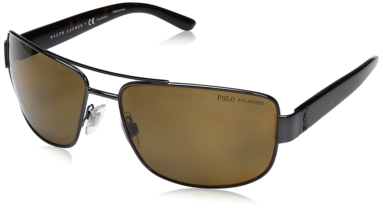 Ralph Lauren POLO 0PH3087 Gafas de Sol, Brushed Dark Gunmetal, 64 ...