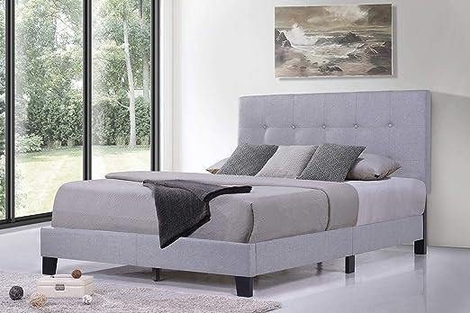 Amazon Com Bed Frame Full Size Julyfox Solid Wood Bed Platform