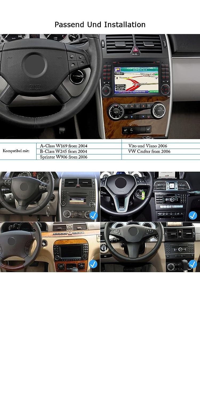 A-Sure 7 zoll 2Din Doppel Autoradio DVD GPS Bluetooth: Amazon.de ...