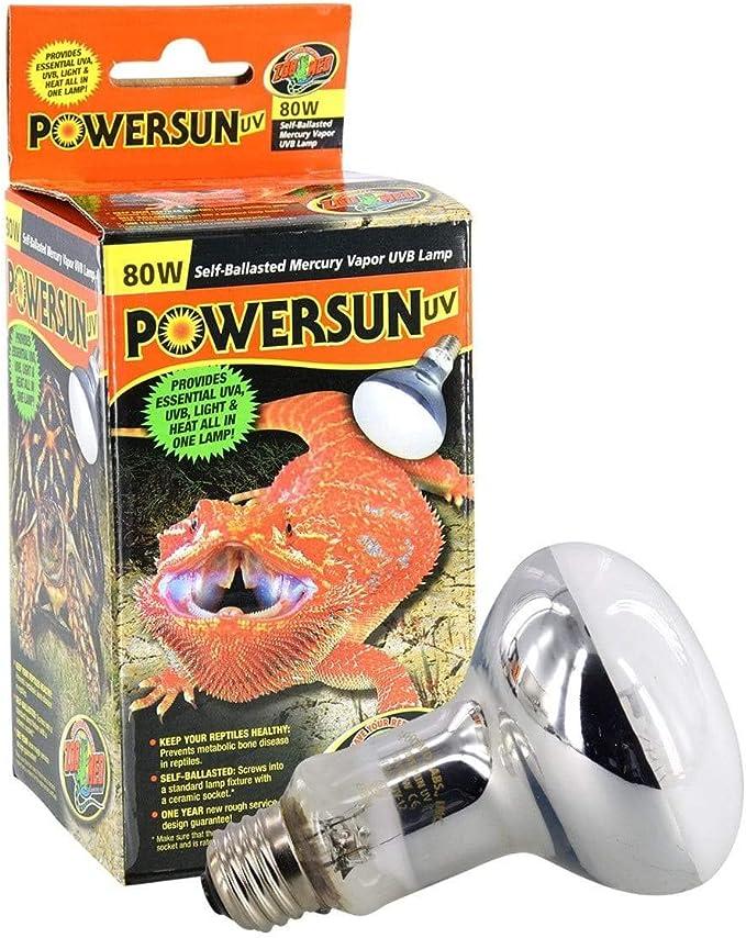 Zoomed Lampada Powersun UV
