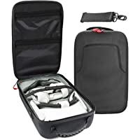 Travel Case for Oculus Quest 2 / Oculus Quest VR Gaming Headset and Controllers Accessories, Shockproof Hard Carrying…