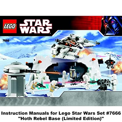 Amazon Instruction Manuals For Lego Star Wars Set 7666 Hoth