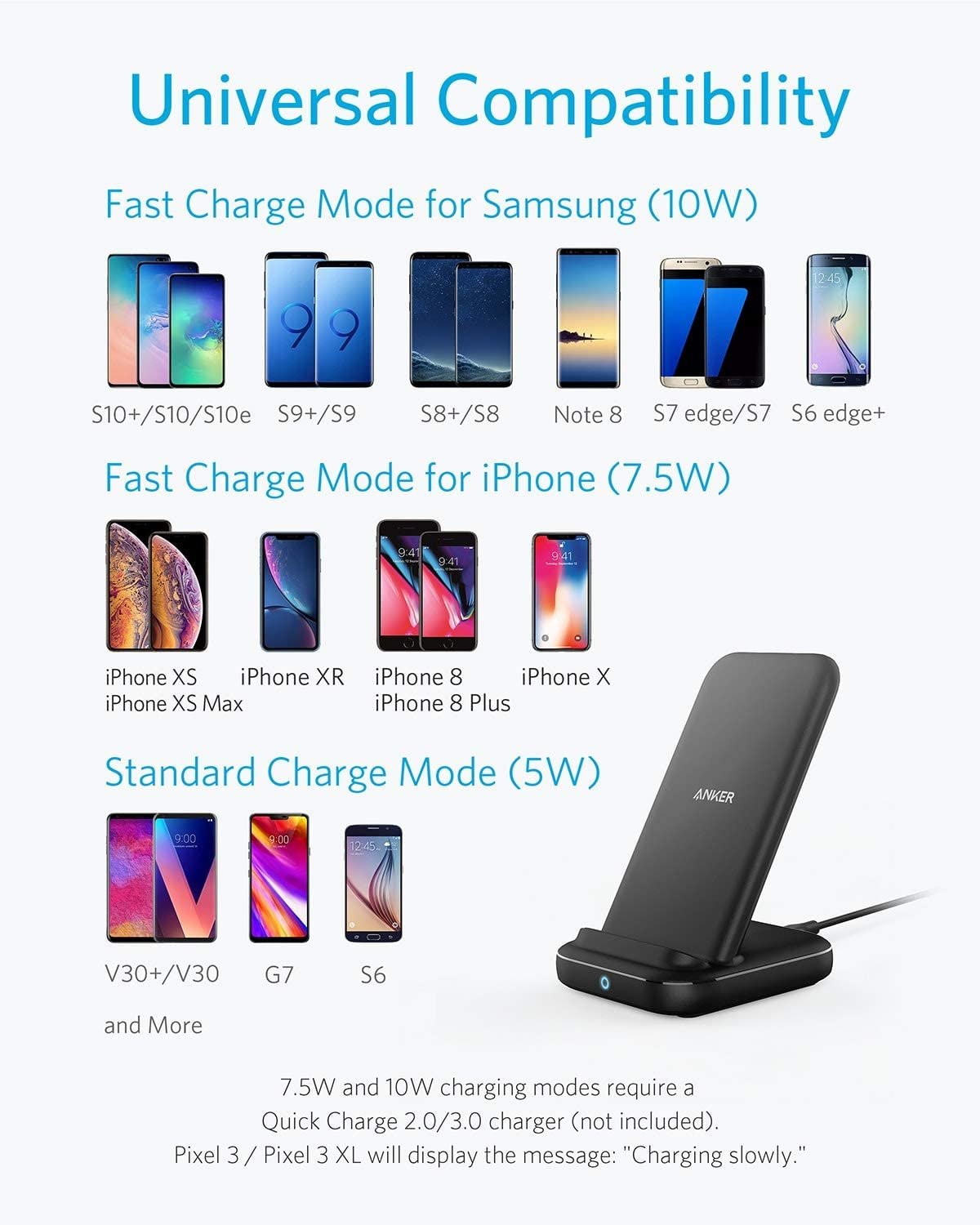Anker Wireless Charger PowerWave 10