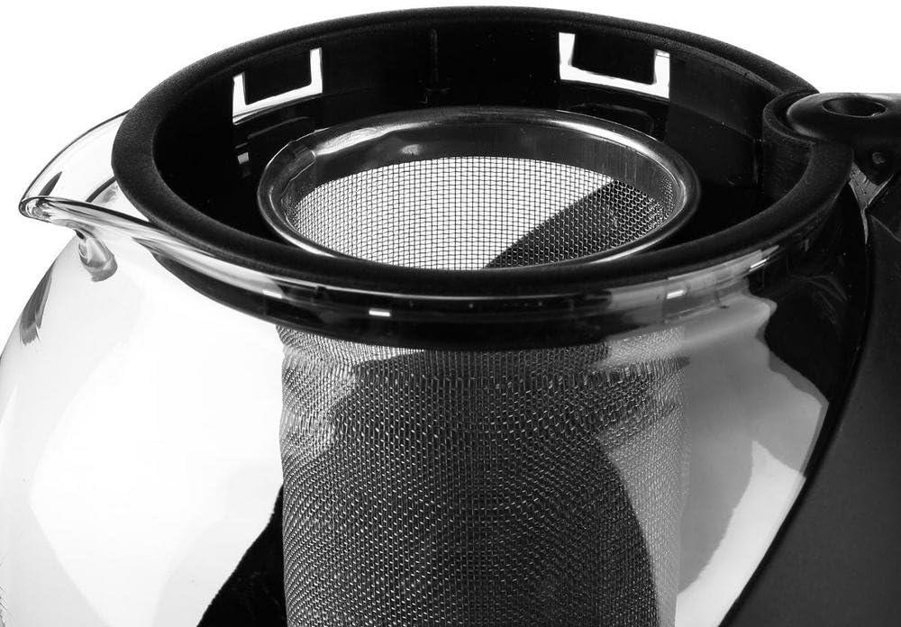 Th/éi/ère boule avec filtre amovible Inox Noir Maison Fut/ée