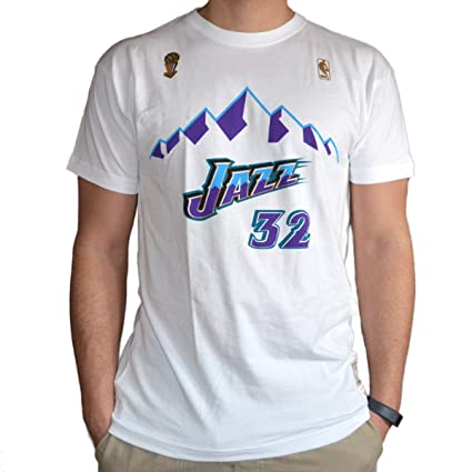 Mitchell & Ness Camiseta Retro Karl Malone Utah Jazz ...