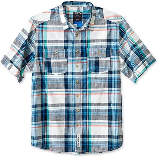 Choose SZ//color KAVU Men/'s Jacksonville Button Down Shirts
