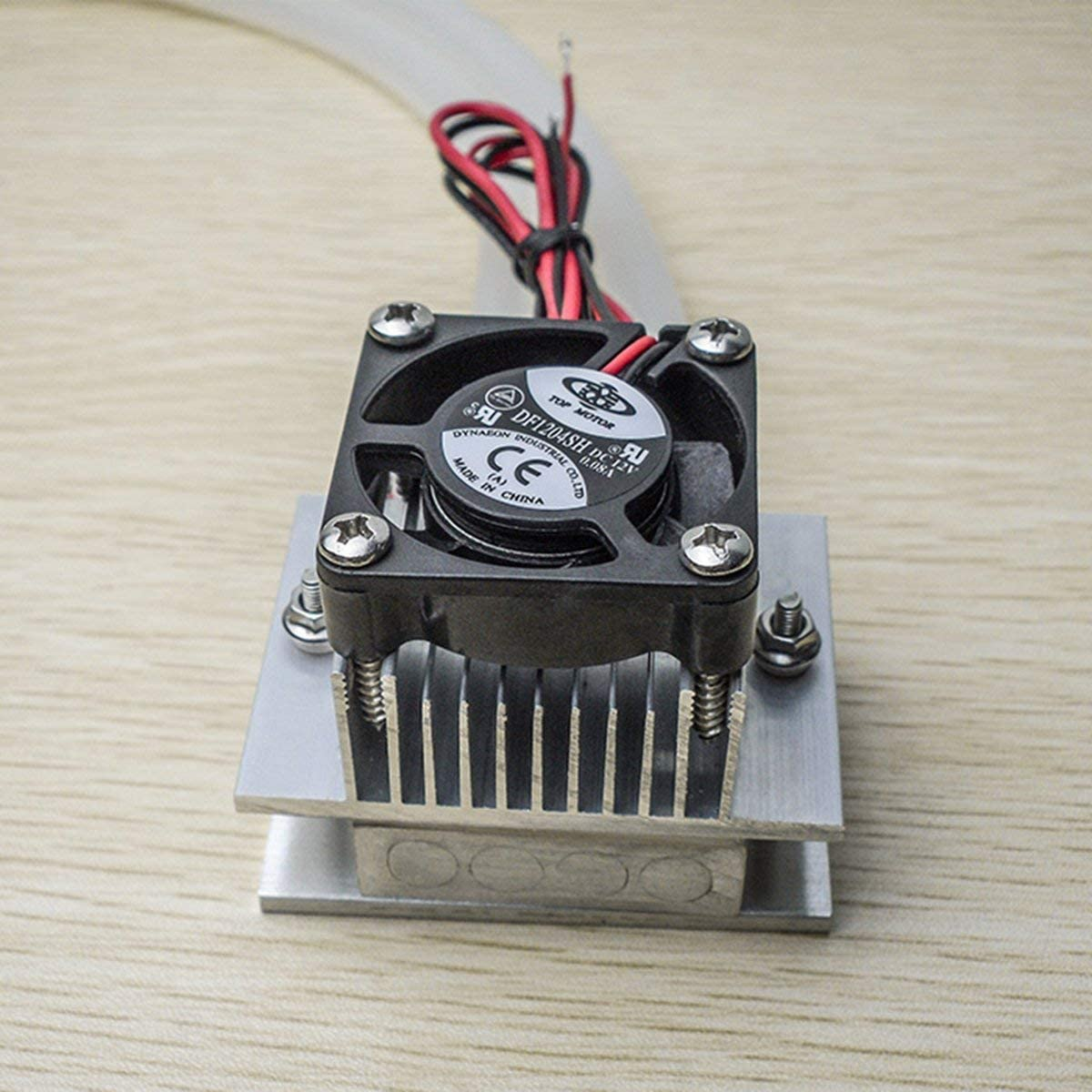 70W DIY Cooling Kits Thermoelectric Peltier Refrigeration Cooling System Water Cooling Fan TEC1-12706 Cooler