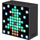 Divoom Timebox Noir  enceinte Bluetooth 5-watts Radio FM reveil et affichage Leds