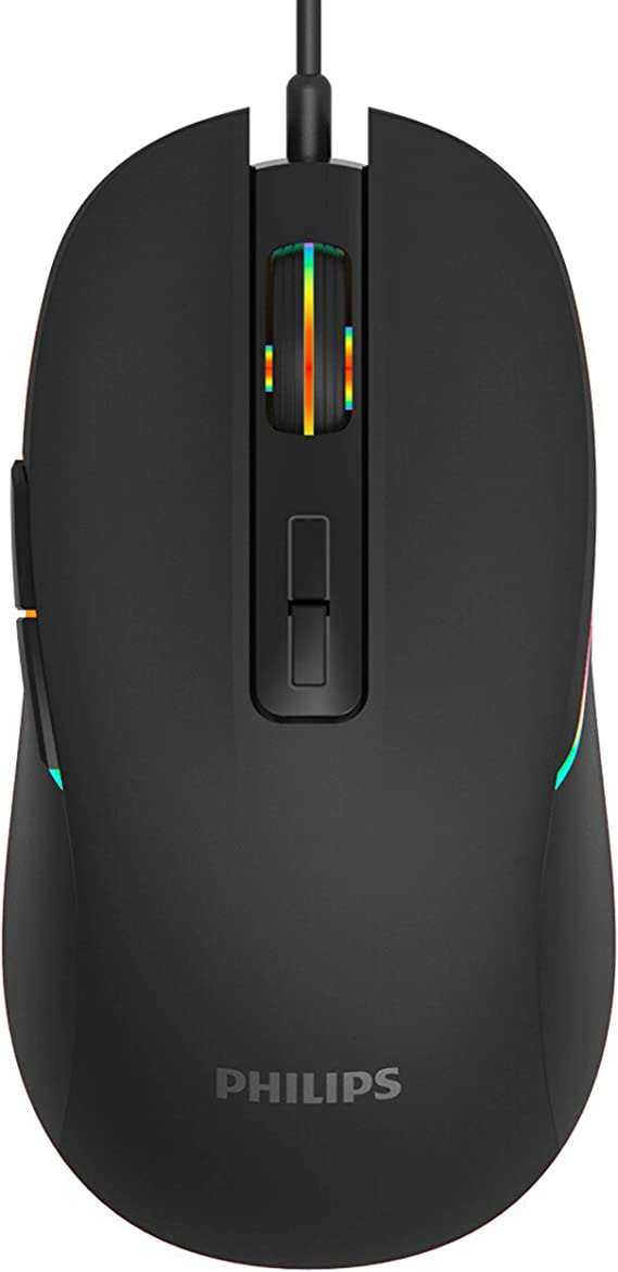 PHILIPS RGB Wired Gaming Mouse