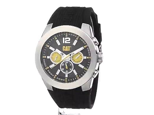 Amazon.com: CAT WATCHES Mens AB14921137 T7 Multi Analog Display Quartz Black Watch: CAT WATCHES: Watches