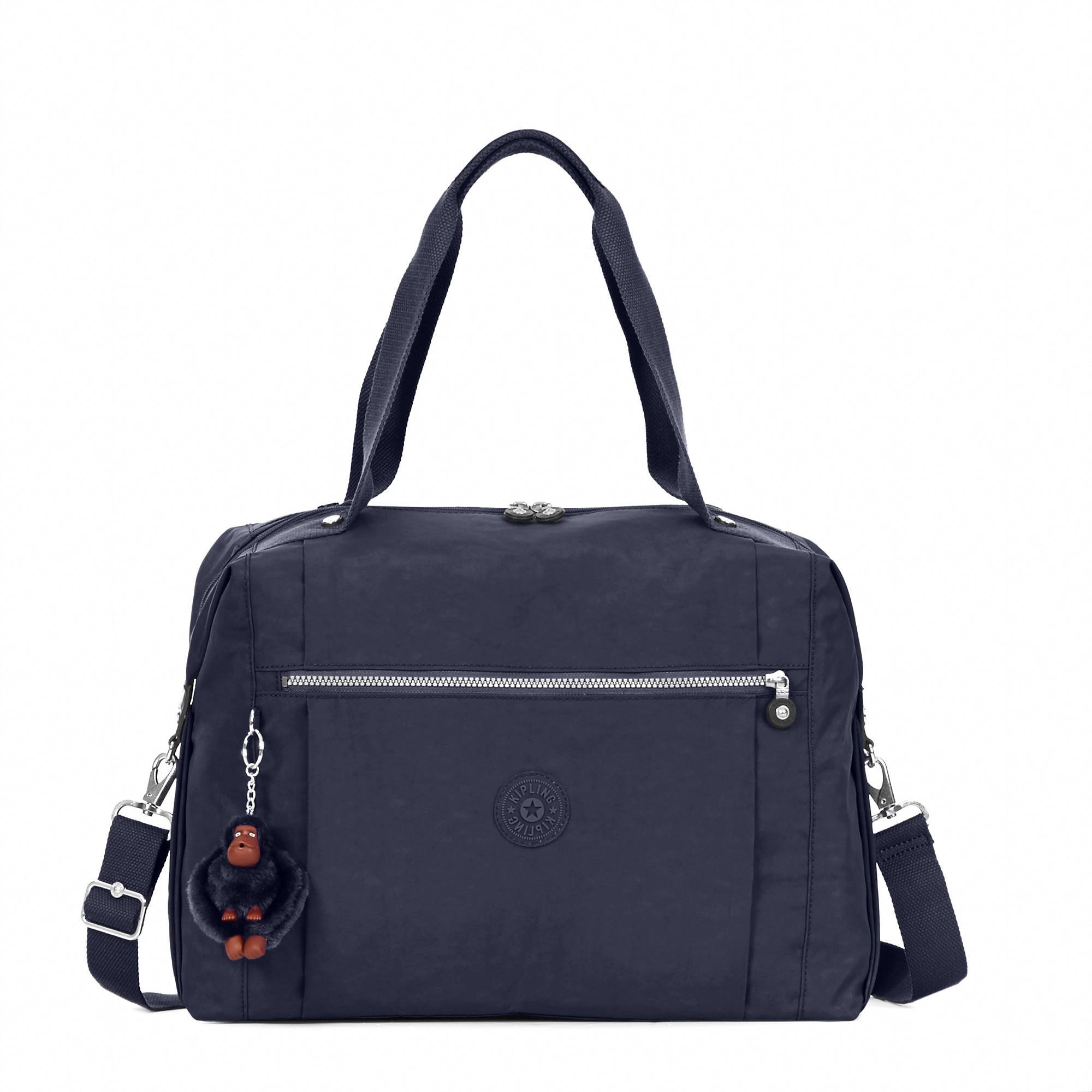 Kipling Women's Ferra Weekender Duffel Bag One Size Blue by Kipling