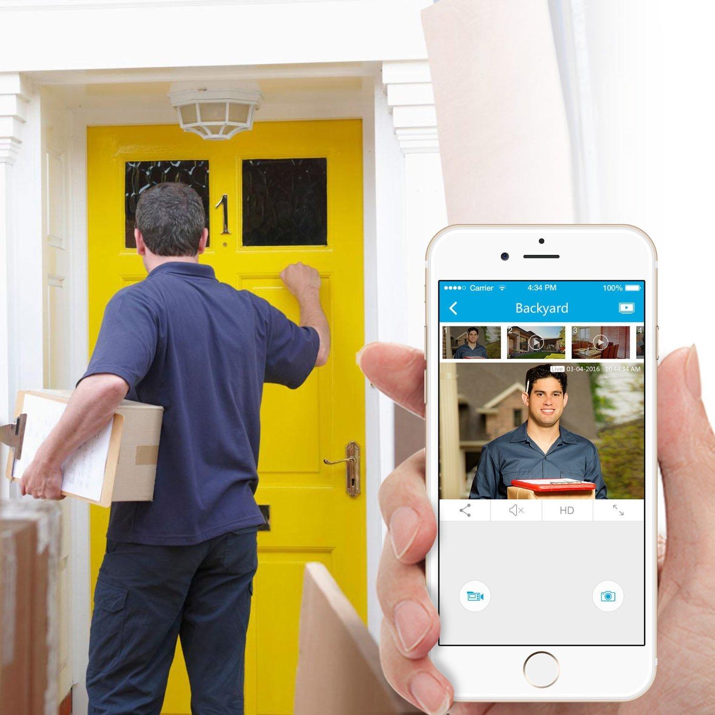 amazon com zmodo all in one wireless outdoor indoor smart home