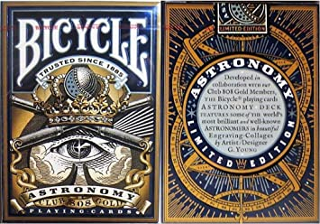 SOLOMAGIA Bicycle - Astronomy Playing Cards - Tarjeta Juegos ...