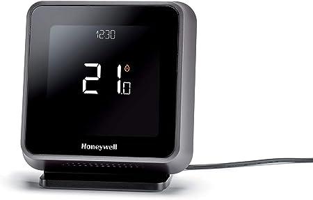 1/pi/èce y6h910rw4013 Honeywell Lyric T6R Wi-Fi Thermostat et r/écepteur Box Table avec support et alimentation noir