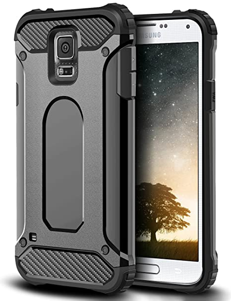Galaxy S5 Funda, coolden Heavy Duty - Tanque Galaxy S5 ...