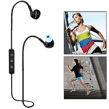 Auriculares Bluetooth, Bluetooth 4.0 Inalámbrico de Danibos Sweatproof Deportes Auriculares con micrófono, Aptx Tecnología
