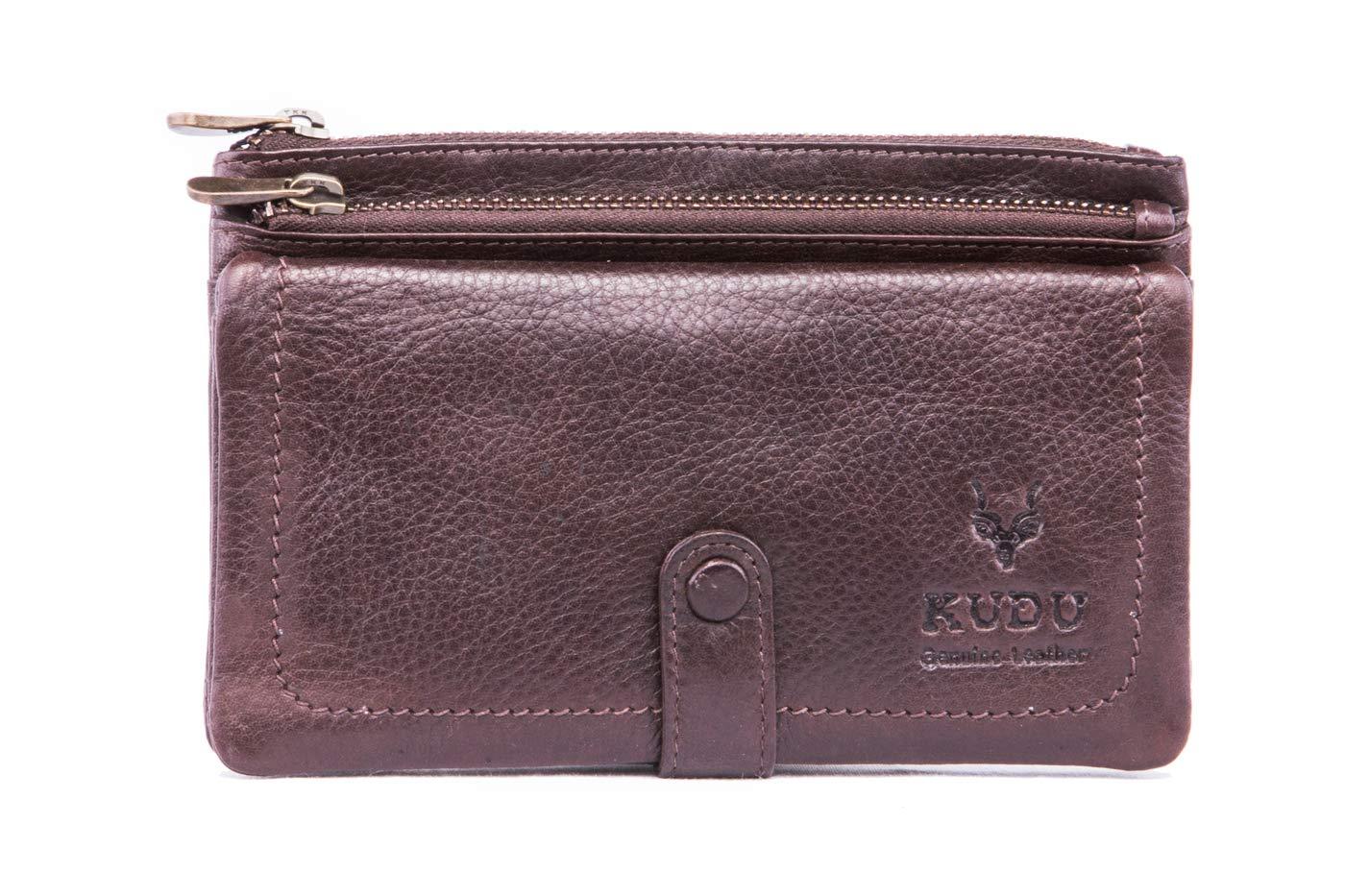 Genuine Kudu Leather Money and Card Wallet (Premium Grade)