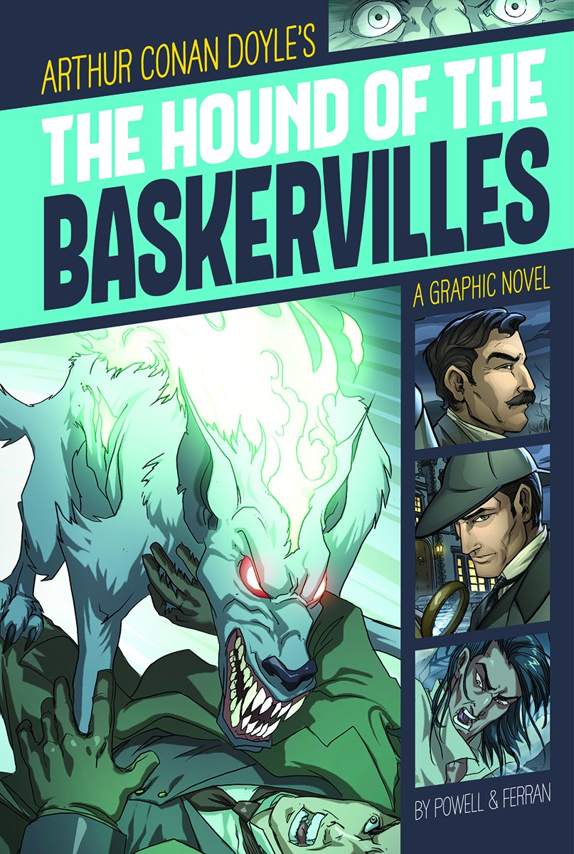Download The Hound of the Baskervilles (Graphic Revolve: Common Core Editions) PDF