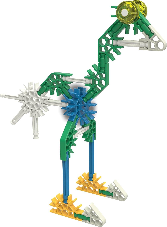 Engineering Education Toy K/'NEX 17009 KNEX  10 Model Building Fun Set  126 Pieces  Ages 7
