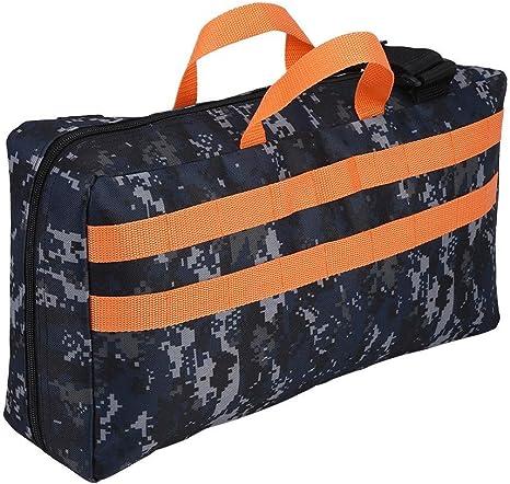 Bolsa de transporte portátil para guardar el estuche de transporte para Nerf Elite: Amazon.es: Bebé