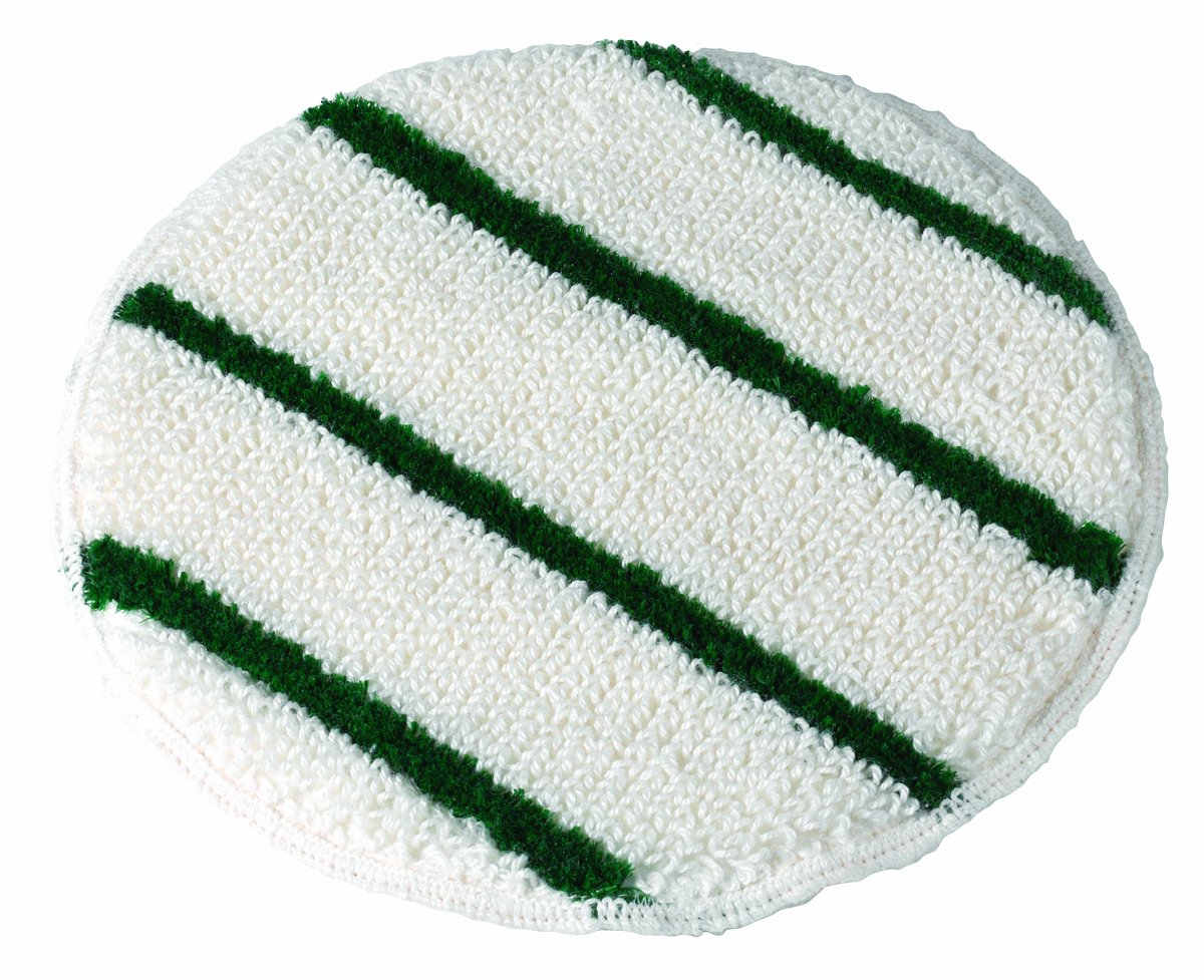 Wilen N007019, Queen Polypropylene Rayon Bonnet with Strips, 19'' Diameter (Case of 6) by Wilen Professional Cleaning Products