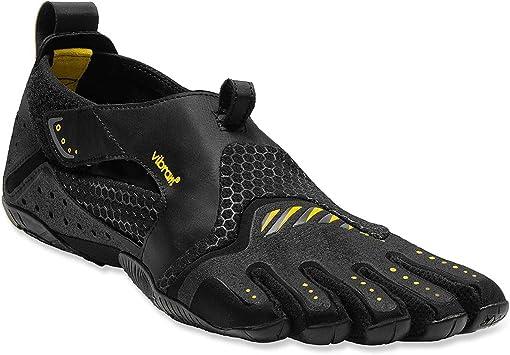Vibram FiveFingers Signa - Zapatillas de cinco dedos para mujer, negro amarillo, 39 UE: Amazon.es: Deportes y aire libre