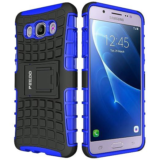 Funda Galaxy J5 (2016),Pegoo Funda para (2016) Galaxy J5 (Azul)