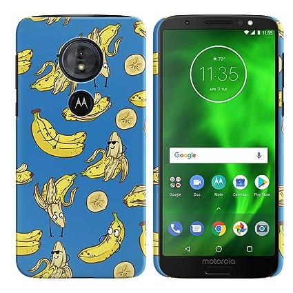 Amazon.com: FINCIBO Funda Compatible para Motorola Moto G6 ...