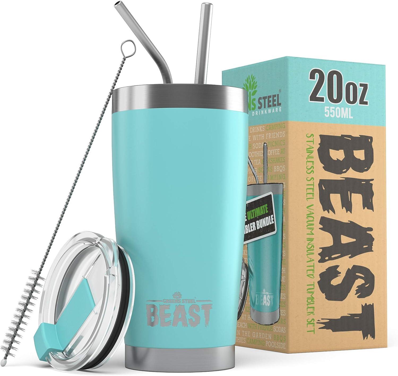 BEAST 20oz Teal Blue Tumbler Travel Mug