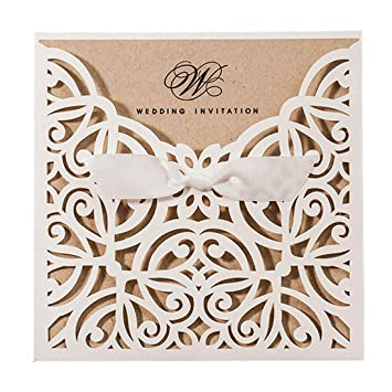 Amazon Com Jofanza 1 Piece Sample Laser Cut Wedding