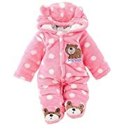C&M Baby Jumpsuit Outfit Hoody Coat Winter Infant Rompers Toddler Clothing Bodysuit …