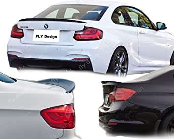 Car Tuning24 53230997 Saphir Schwarz 475 Lackiert Heckspoiler Wie Performance Und M3 2er Coupe F22 2013 Auto