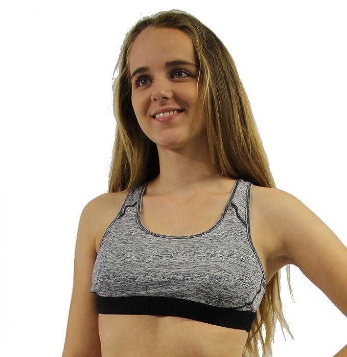 Venice Beach Mujer junella Top - Sujetador Deportivo: Amazon.es ...